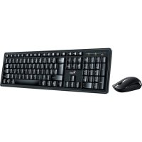 GENIUS KM8200 BLACK WIRELESS KEYBOARD AND MOUSE COMBO